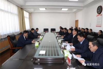 临夏州人民政府与甘肃凯帝斯电梯制造有限公司 投资合作意向协议签约仪式举行