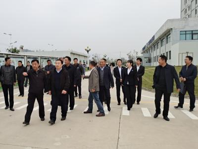 中国农业发展集团有限公司副总经理刘辉一行来临夏经济开发区考察