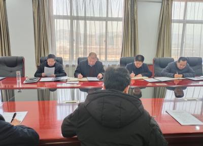 甘肃临夏经济开发区管委会召开主任办公扩大会议 暨2020年度干部职工考核大会