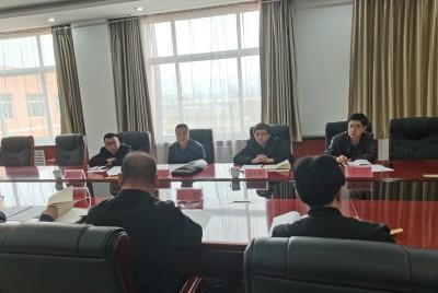 甘肃临夏经济开发区召开创建省级 高新技术产业开发区推进会