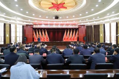 济南高新区党政代表团来临夏经济开发区 对接东西部协作工作
