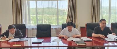甘肃临夏经济开发区管委会召开理论学习中心组暨主任办公扩大会议