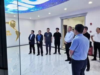 甘肃省级开发区领导小组考核组对临夏经济开发区2020年度工作考核现场调研